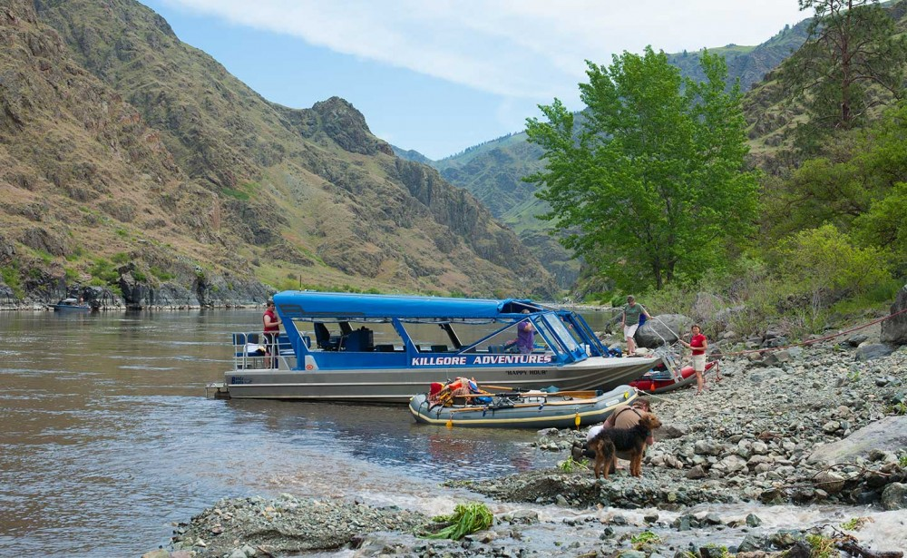 Hells Canyon Jet Boat Trips Lodging Visit North Central