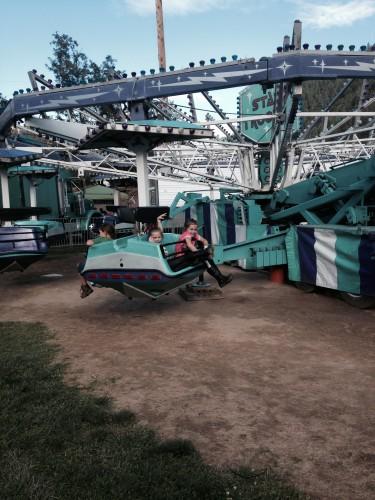 Can't miss a the fair rides....